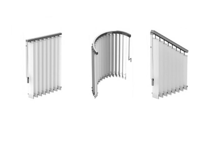 Stores interieurs bandes verticales fermeture de terrasse marseille alu service for Store bande verticale marseille
