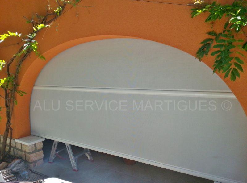 store exterieur vertical sur terrasse a martigues fermeture de terrasse marseille alu service. Black Bedroom Furniture Sets. Home Design Ideas