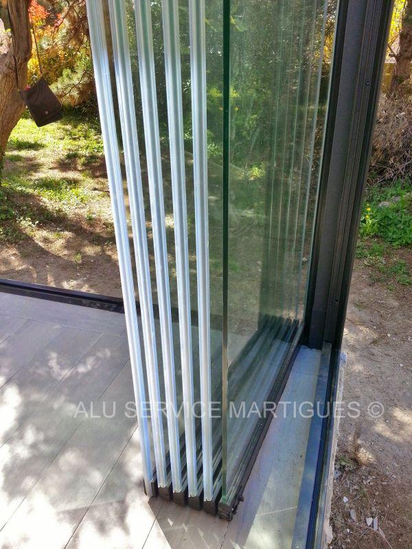 panneaux de verre repliables panoramiques pour balcons sur. Black Bedroom Furniture Sets. Home Design Ideas