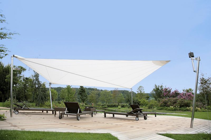 voile d ombrage sur mesure motorisee sur saint remy de provence fermeture de terrasse. Black Bedroom Furniture Sets. Home Design Ideas