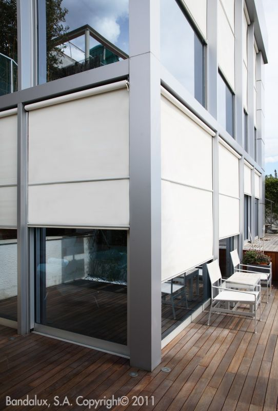Stores exterieurs verticaux fermeture de terrasse - Estores exteriores enrollables ...