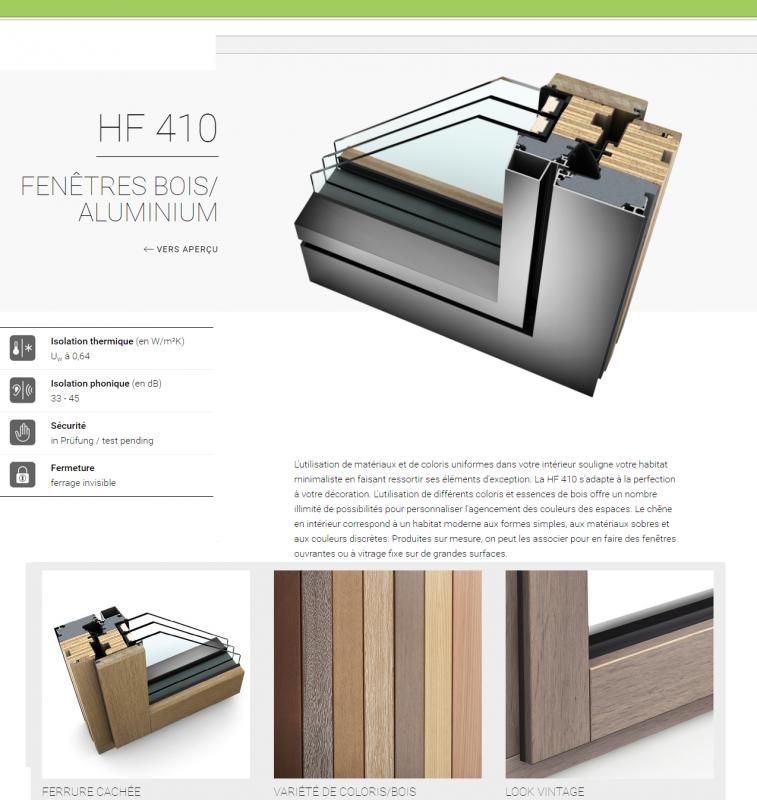 les menuiserie internorm par aluservice pvc aluminium. Black Bedroom Furniture Sets. Home Design Ideas