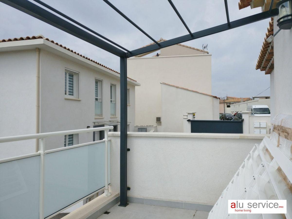 Brise Vue En Verre Pour Terrasse avec brise vue / soleil aluminium pour terrasse et jardin a marseille