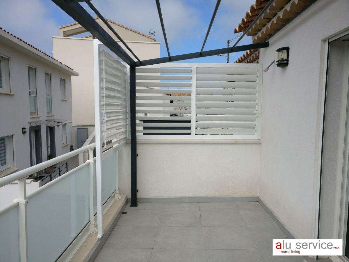 Brise Vue En Verre Pour Terrasse pour brise vue / soleil aluminium pour terrasse et jardin a marseille