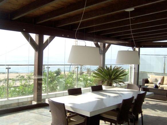 panneaux de verre repliables panoramiques sur aix en. Black Bedroom Furniture Sets. Home Design Ideas