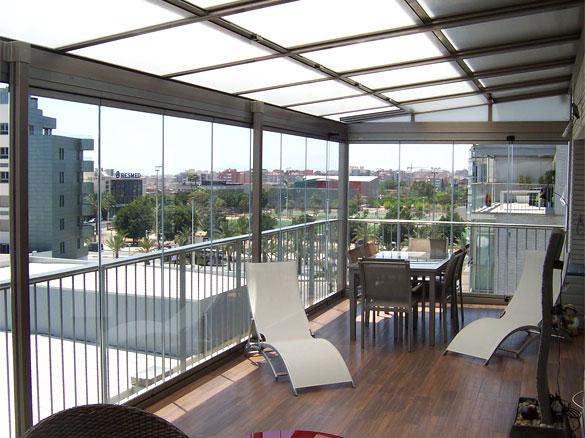 panneaux de verres repliables panoramiques amovibles pour