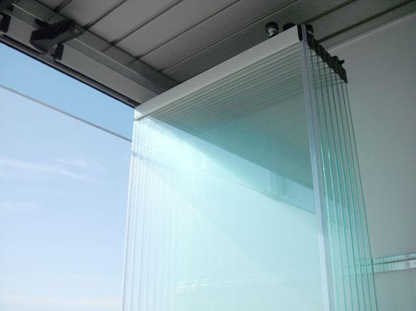 cloisons de verre repliables panoramiques pour restaurants. Black Bedroom Furniture Sets. Home Design Ideas