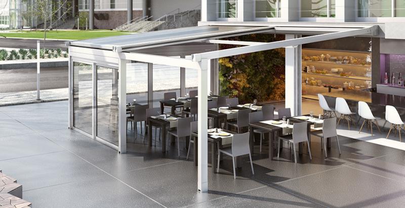 solutions pour couverture terrasse de restaurant sur marseille fermeture de terrasse marseille. Black Bedroom Furniture Sets. Home Design Ideas