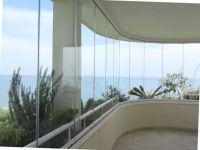 cloisons de verre repliables panoramiques pour balcon sur avignon fermeture de terrasse. Black Bedroom Furniture Sets. Home Design Ideas